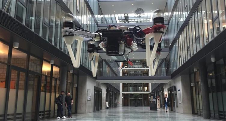 Zurich: des drones capables de s'orienter par faible visibilité