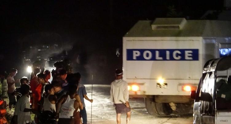 Birmanie: neuf morts dans un accident de camion du CICR au Bangladesh voisin