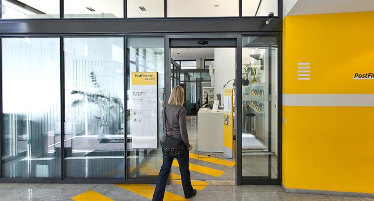 PostFinance prévoit une réorganisation