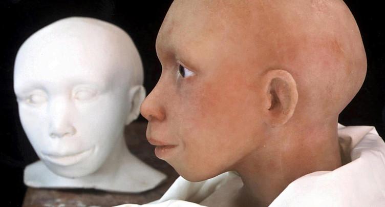 Le crâne d'un Néandertal se développait comme celui d'Homo sapiens