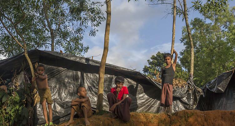 Le rythme d'arrivées de Rohingyas diminue depuis quelques jours