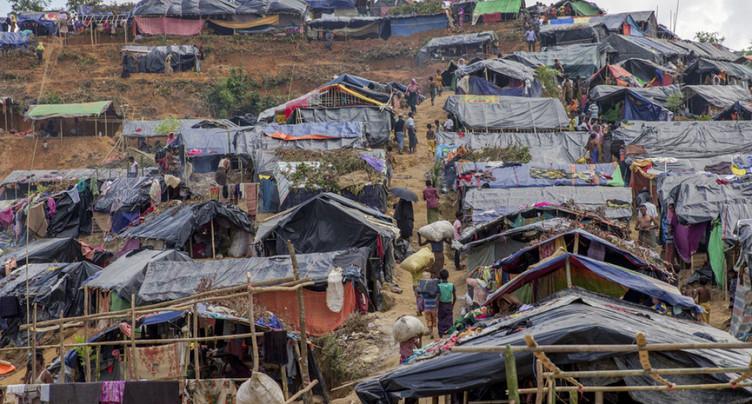 Birmanie: le Bangladesh affirme que l'afflux de réfugiés rohingyas a cessé