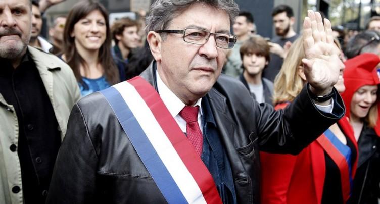 Manifestation de La France insoumise: 150'000 personnes (Mélenchon)