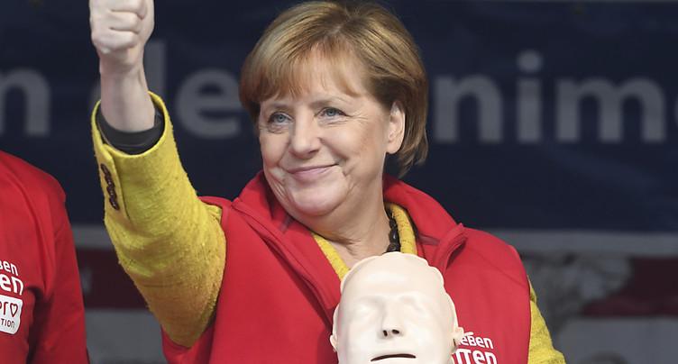 La chancelière Merkel en lice pour un quatrième mandat