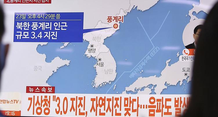 Le séisme en Corée du Nord pas dû à un test nucléaire