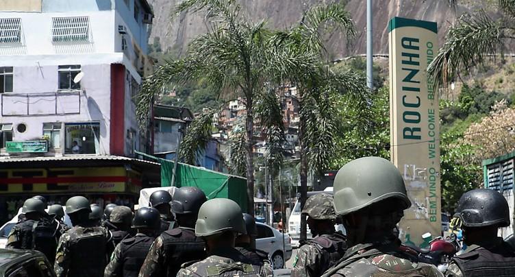 Rio retrouve un semblant de calme après une semaine d'affrontements