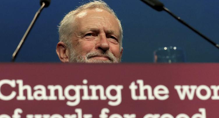 Jeremy Corbyn en congrès quatre jours à Brighton