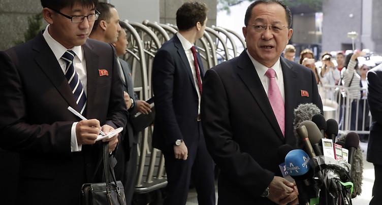 Pyongyang menace d'abattre des bombardiers stratégiques américains