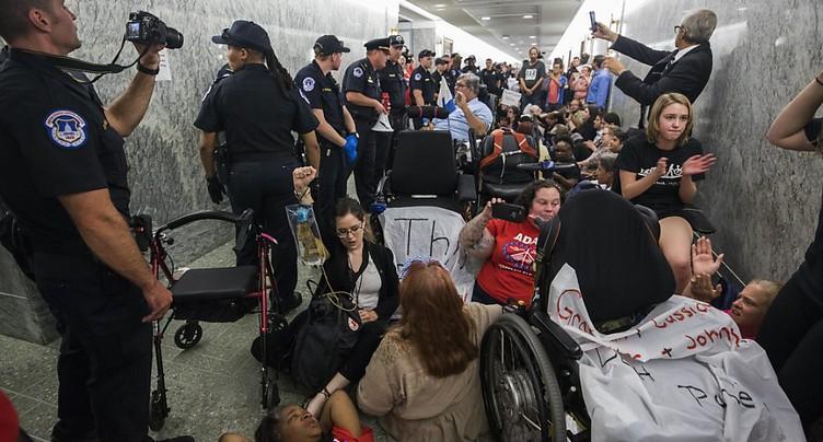 Obamacare: 3e défection républicaine, l'abrogation semble en échec