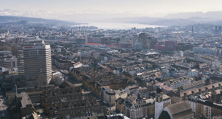 Zurich est la destination suisse la plus prisée