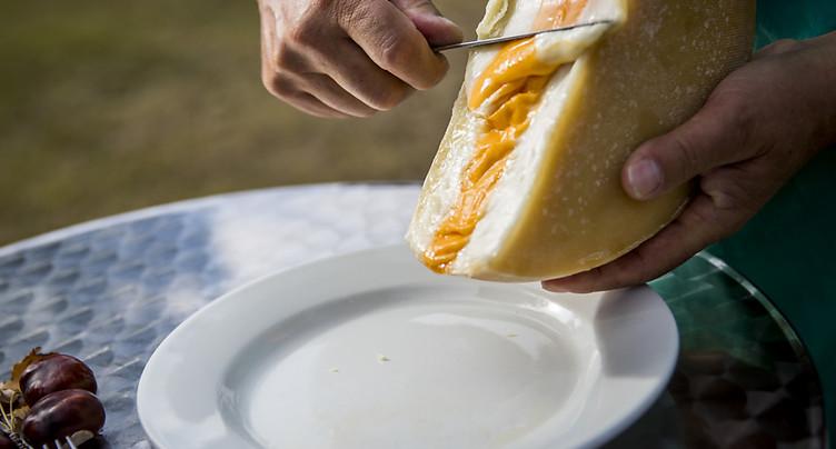 Le Valais invente la raclette aux trois saveurs