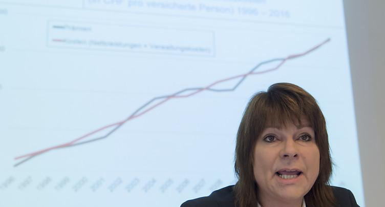Santésuisse moins optimiste qu'A. Berset sur les effets de Tarmed
