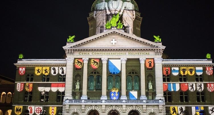 La Réforme en son et lumière sur la Place fédérale