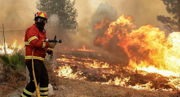 Plus de 300 incendies en une journée, un record