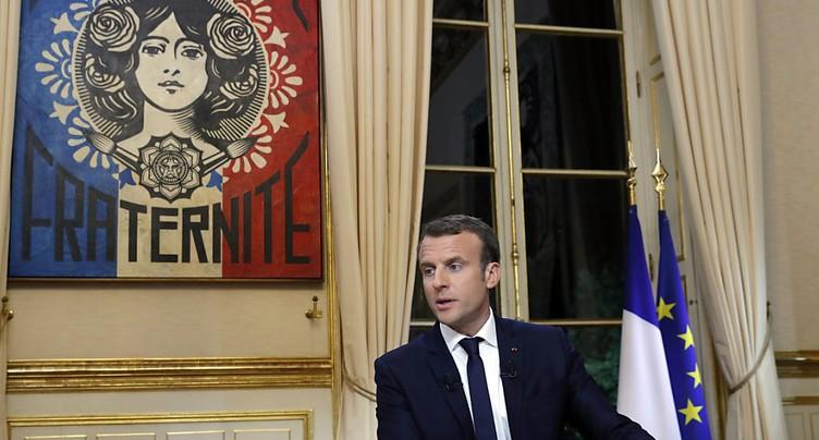 « Je fais ce que j'ai dit »: Macron assume et défend ses réformes