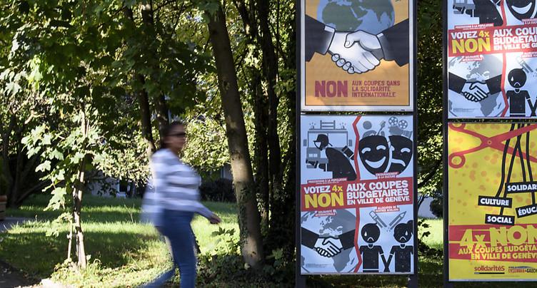 Un recours déposé contre l'annulation du vote en Ville de Genève