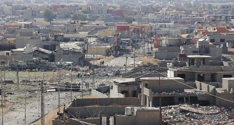 Une milice yazidie reprend Sindjar, dans le nord de l'Irak, après le retrait kurde