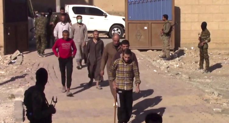 400 djihadistes de l'EI se sont rendus en un mois (coalition)