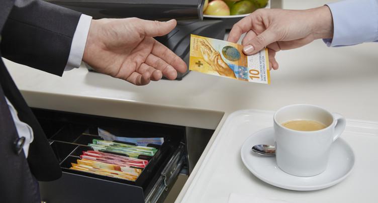 Le nouveau billet de 10 francs est en circulation depuis mercredi