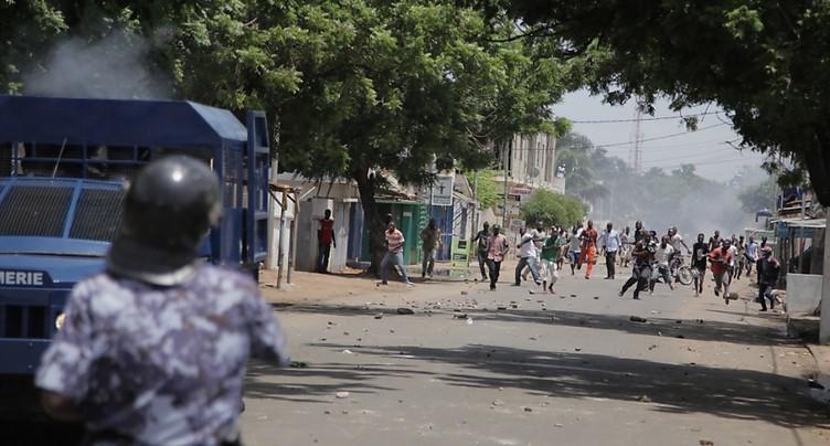 Quatre morts dans des affrontements au Togo