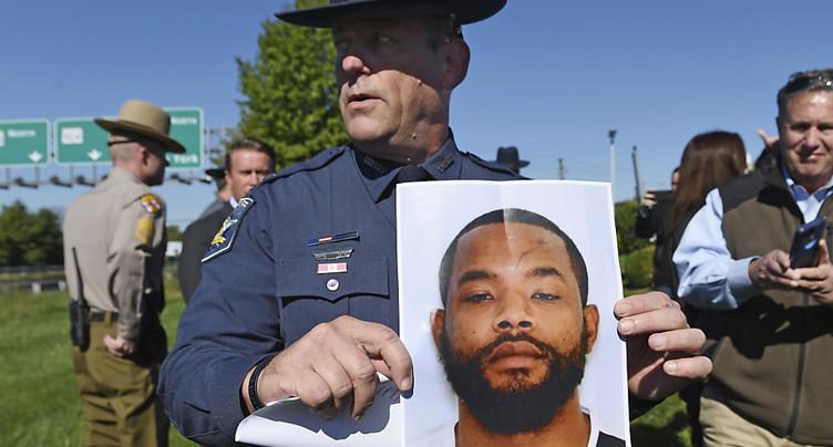 Etats-Unis: l'auteur de fusillade arrêté après une chasse à l'homme