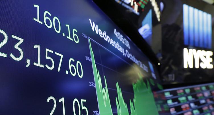 Le risque d'un krach boursier comme celui de 1987 n'est pas exclu