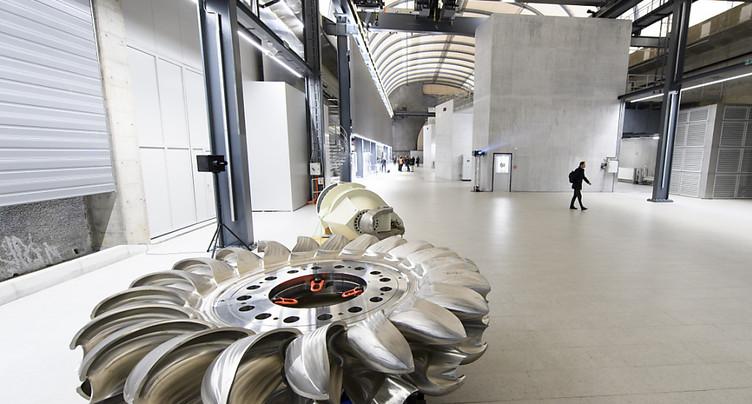 EPFL: méthode de calcul de l'érosion des turbines par le sable