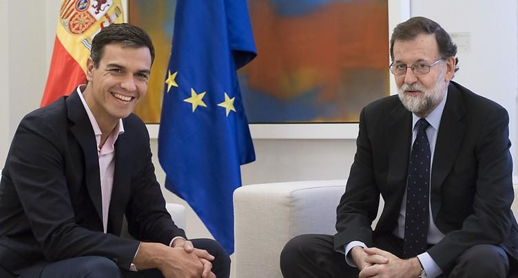 Madrid veut la tenue en janvier d'élections en Catalogne, annonce le PSOE