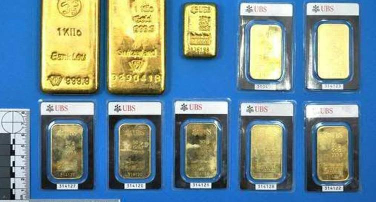 Lingots d'or abandonnés remis à la commune de Klingnau (AG)