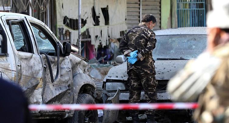 Une mosquée de Kaboul prise pour cible