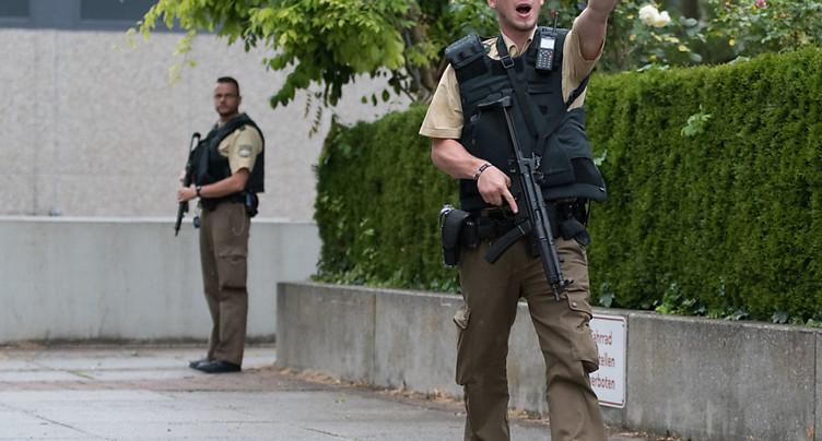 Attaque au couteau dans le centre de Munich, huit blessés légers