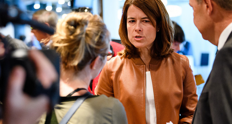 Petra Gössi attaque la gauche « qui n'a plus les pieds sur terre »