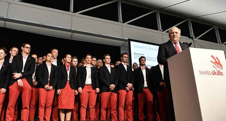 La délégation suisse reçue par le ministre Johann Schneider-Ammann
