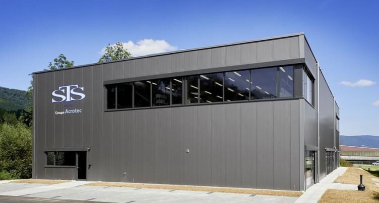 Nouvelle usine pour le groupe jurassien Acrotec
