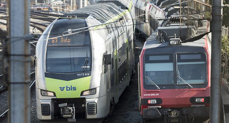 Les CFF exploiteront le trafic grandes lignes encore au moins 2 ans