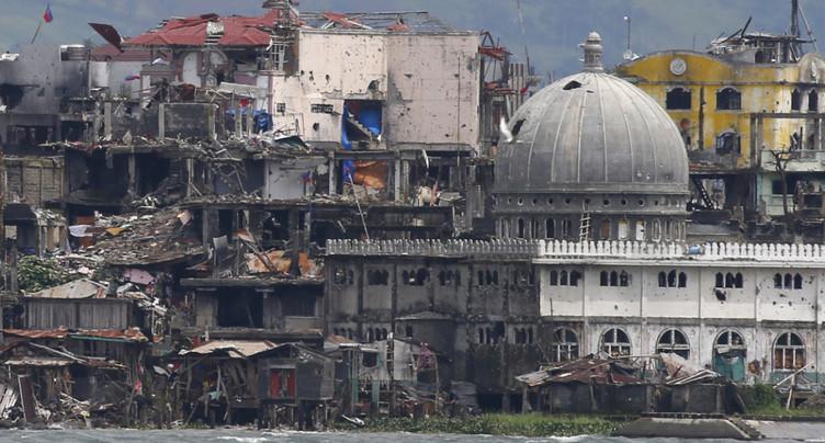 Les habitants retournent à Marawi après cinq mois de combats
