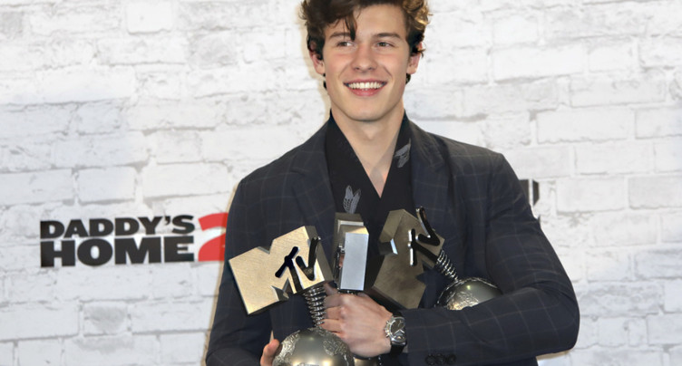 Les MTV Europe Music Awards sacrent le Canadien Shawn Mendes