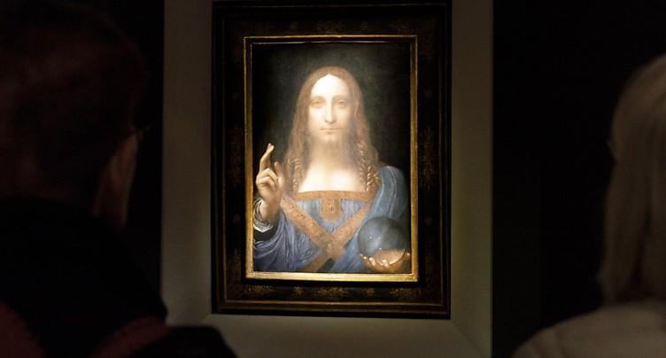 Record pour un tableau de Vinci adjugé 450,3 millions de dollars