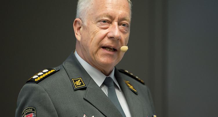 L'ex-chef de l'armée rejoint le conseil d'administration de Swiss