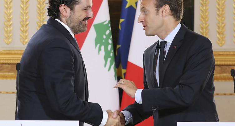 Emmanuel Macron recevra Saad Hariri et sa famille samedi à midi