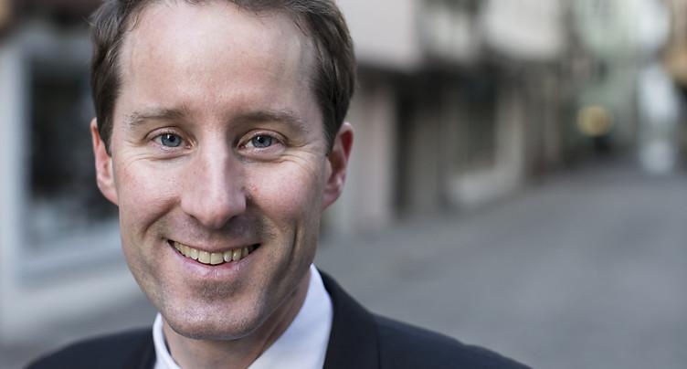 Thomas Aeschi élu à la présidence du groupe parlementaire UDC