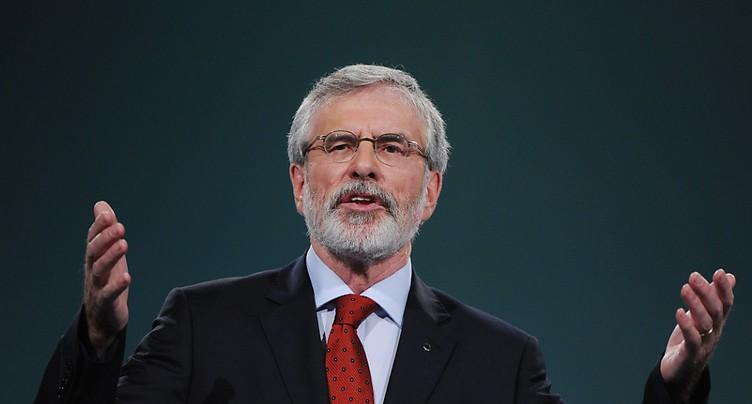 Gerry Adams démissionne de la présidence du Sinn Féin irlandais