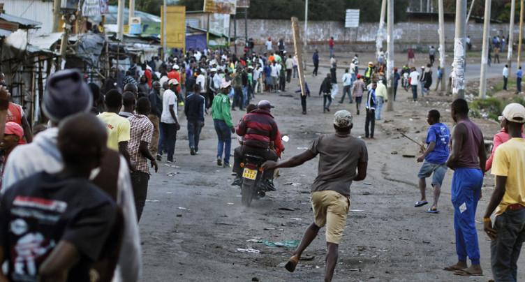 Au moins quatre personnes tuées dans un bidonville de Nairobi