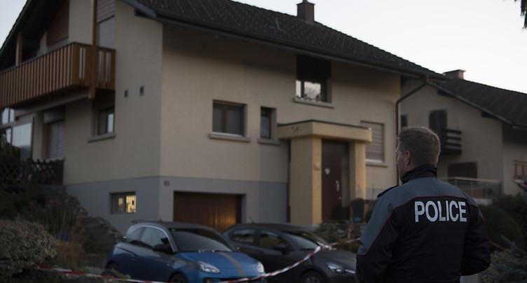 L'homme arrêté après le double homicide de Suberg (BE) avoue