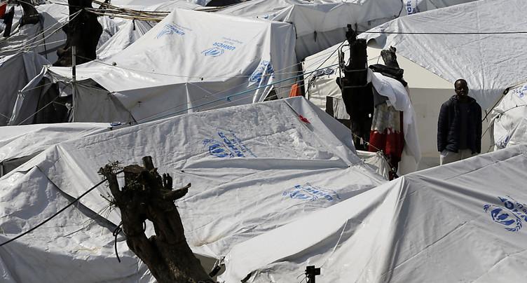 Lesbos à l'arrêt pour ne pas être une « île-prison » de réfugiés