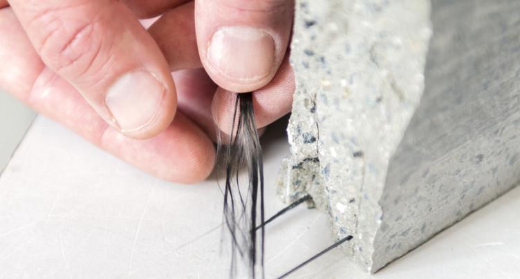 Le carbone remplace l'acier dans le béton armé