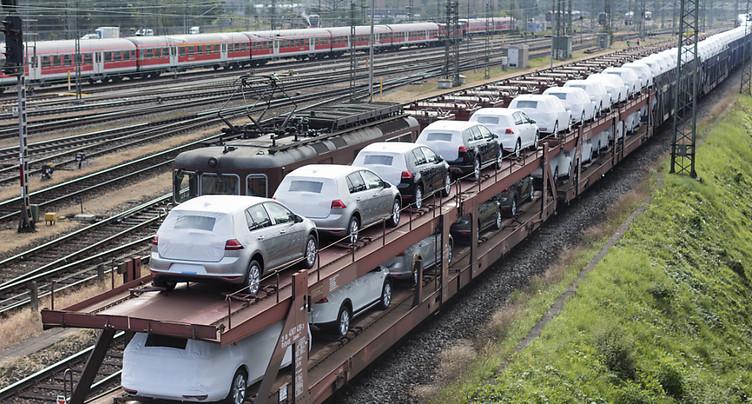 Le rail reprend des parts du transport de marchandises à la route
