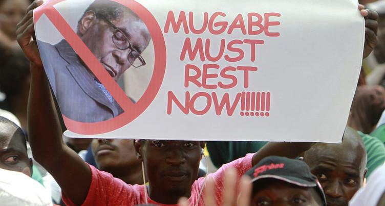 Le président zimbabwéen Robert Mugabe a démissionné
