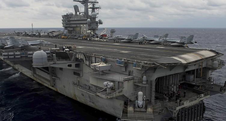 Un avion militaire américain s'abîme en mer des Philippines