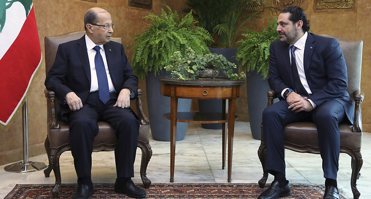 Le premier ministre libanais Saad Hariri suspend sa démission